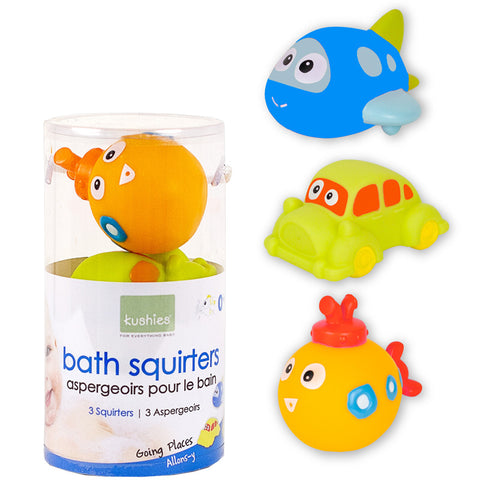 Bath squirters-Kushies Going places