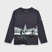 L/S T-shirt - Mayoral Graphite 4049