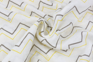 2 Pack Cotton Muslin Swaddle Blanket Lance & Joy Yellow