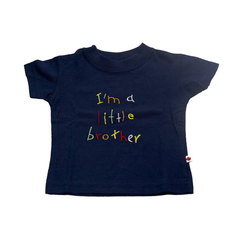 T-Shirt - BC Little Brother Navy