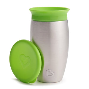 Stainless Steel Miracle Cup - Munchkin Green