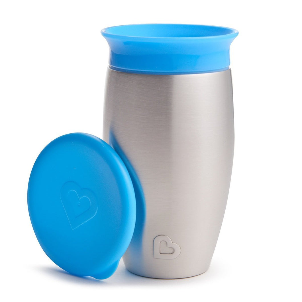 Stainless Steel Miracle Cup - Munchkin Blue