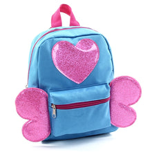 "Mini Backpack 10"" Blue Butterfly"