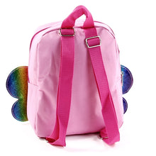 "Mini Backpack 10"" Pink Butterfly"