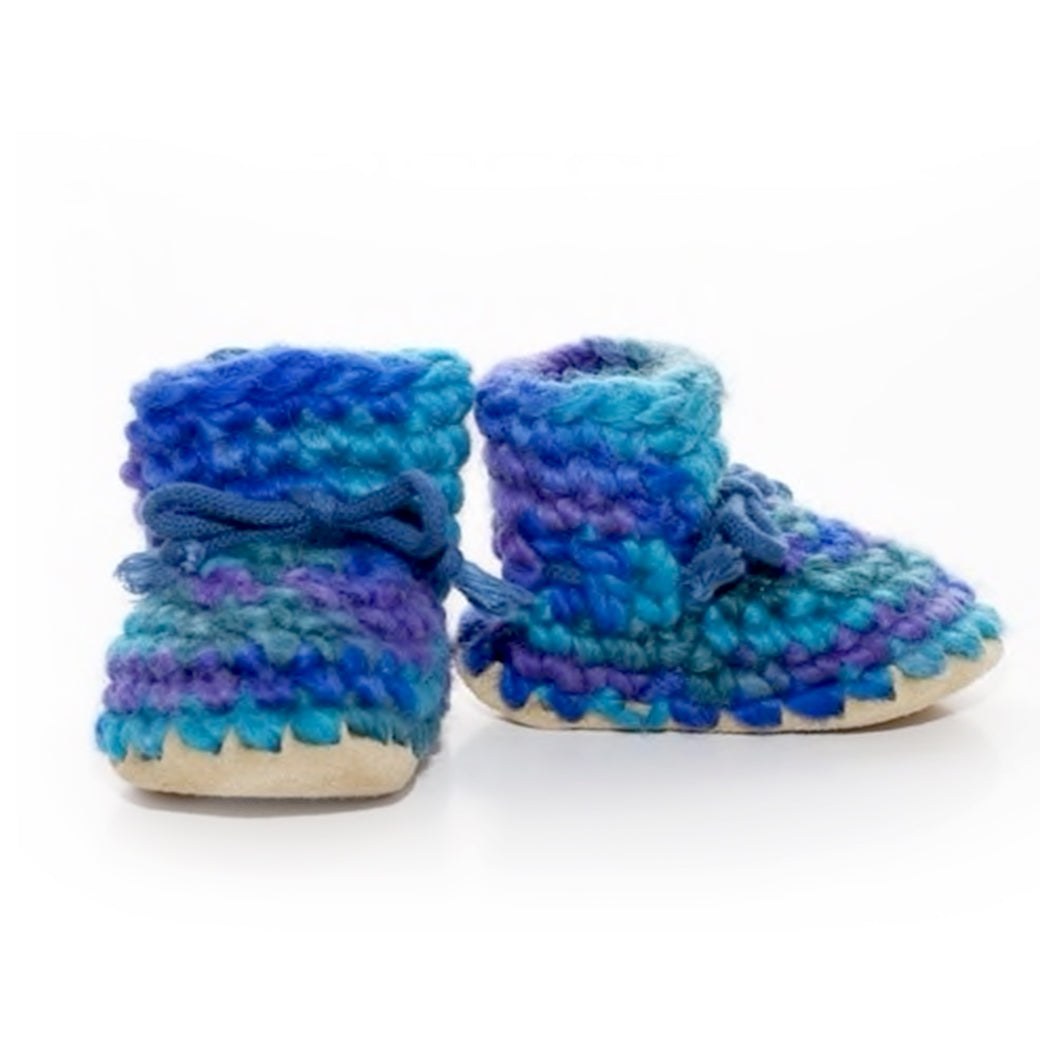 Padraig Slippers Blue Multi