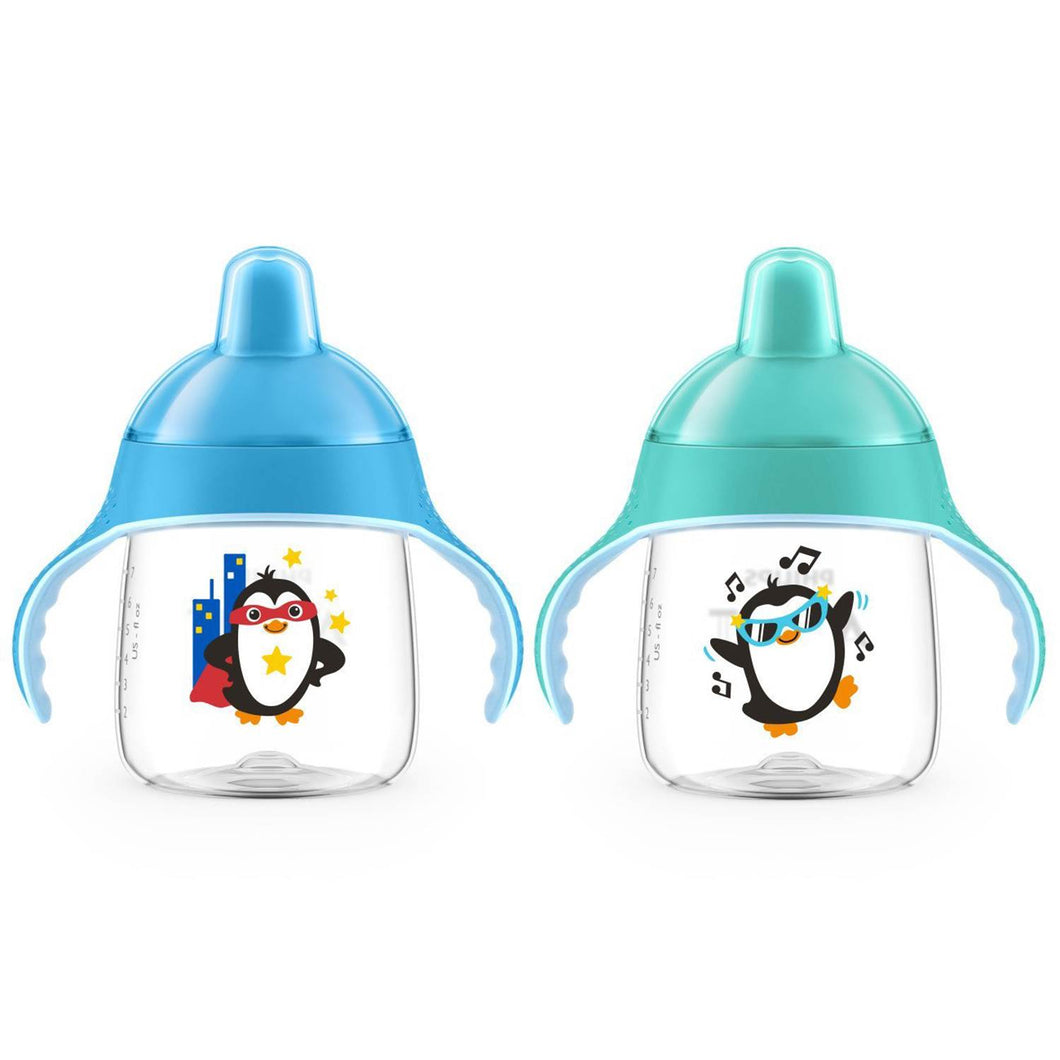 Avent - My Little Sippy Cup 2pck 9oz Teal