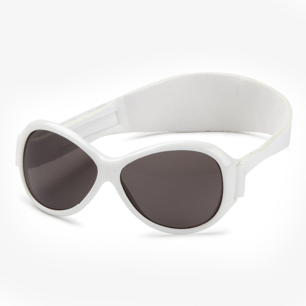 Sunglasses - Retro Banz Kidz 2-5y White