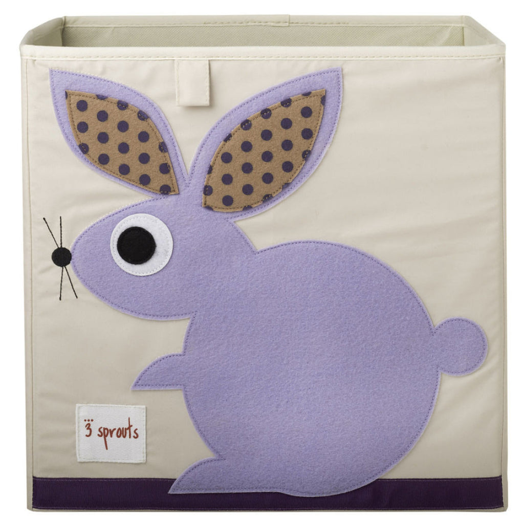 Rabbit Storage Box  3 Sprouts