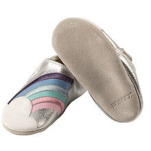 Robeez Soft Soles - Hope Silver
