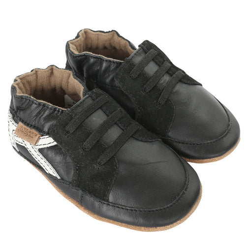 Robeez Soft Soles - Super Sporty Black