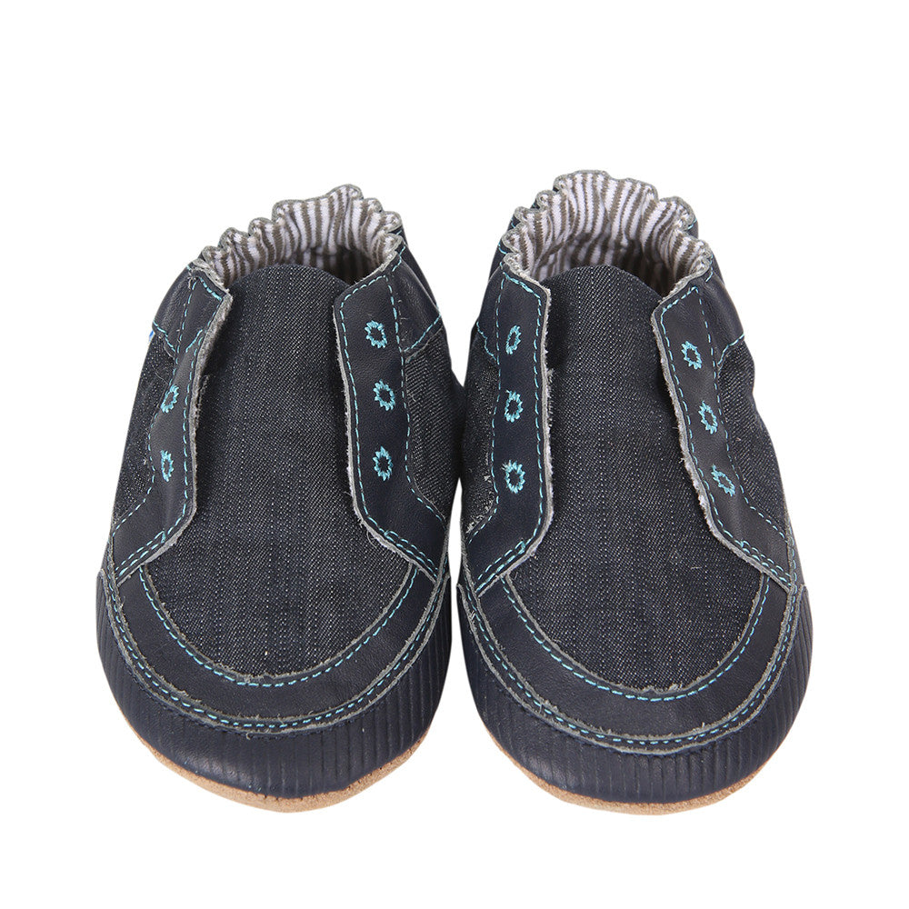 Robeez Soft Soles - Stylish Steve Navy