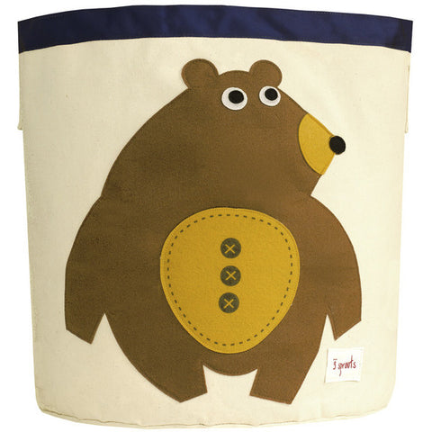 Tofee Bear Storage Bin 3 Sprouts