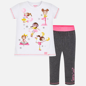 Set (2) - Mayoral Top & Leggings Dolls 3724