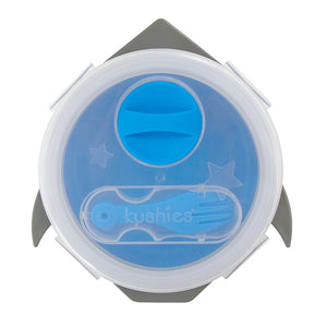 Silibox Silicone Container -  Blue