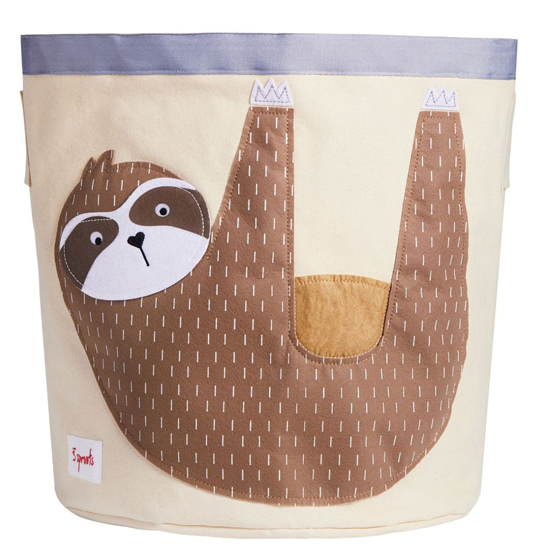 Sloth Storage Bin 3 Sprouts