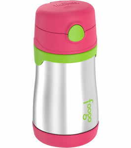 Thermos 10 oz. Stainless Steel Straw Bottle Watermelon (Foogo/18m)