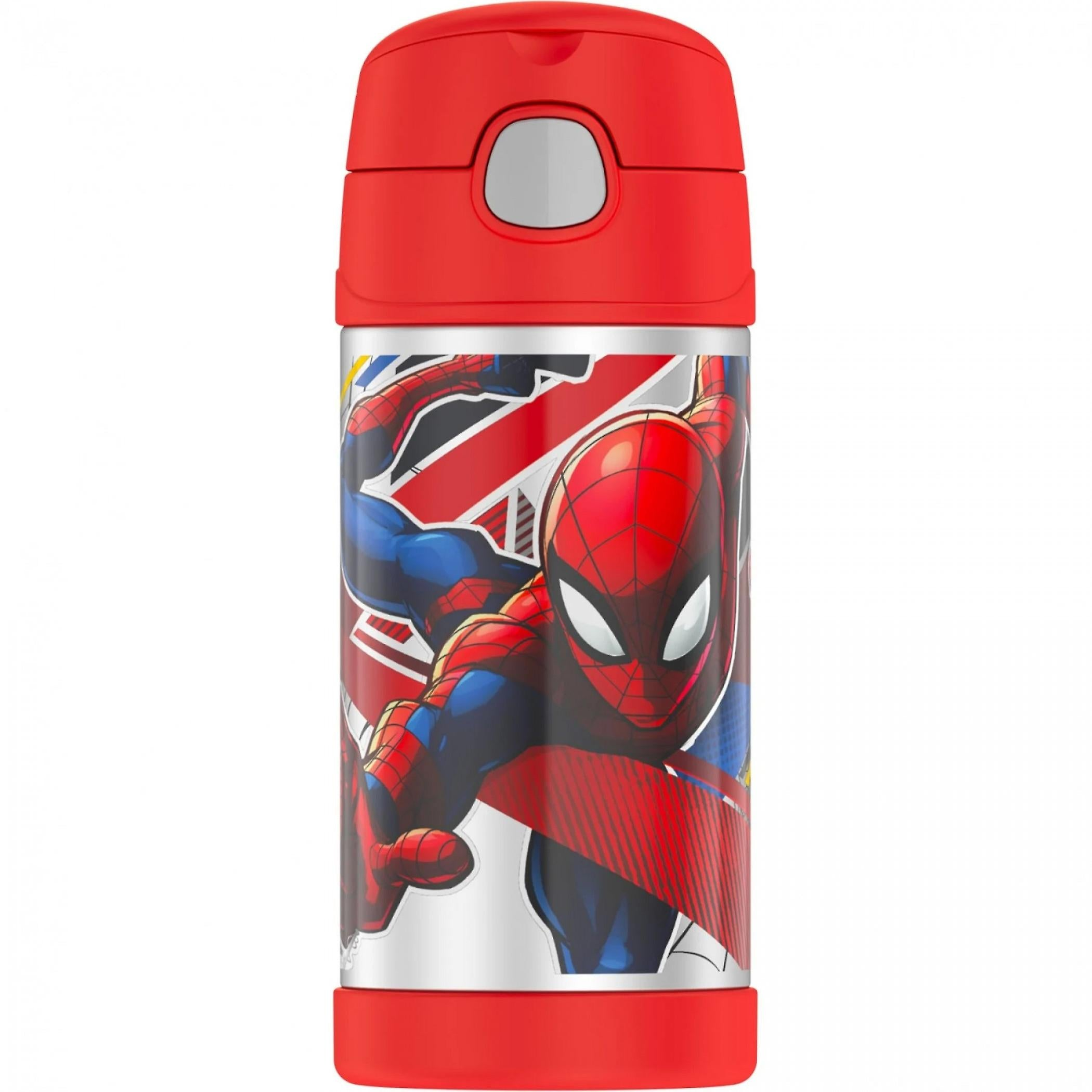 Thermos 12oz Insulated Straw Bottle -  Spiderman