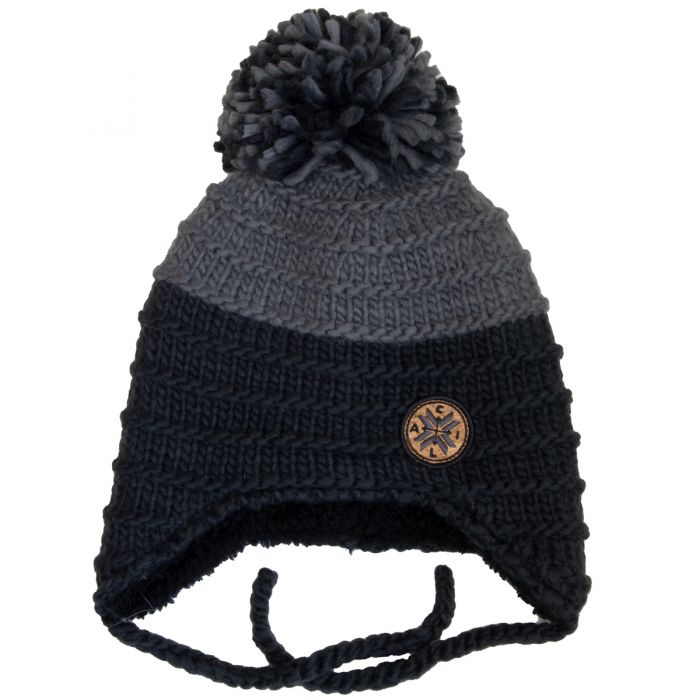 Winter hat - Calikids W2007 Black/Grey