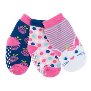 Buddy Baby 3 Pc Socks Set Zoocchini  Bella the Bunny 0-24m