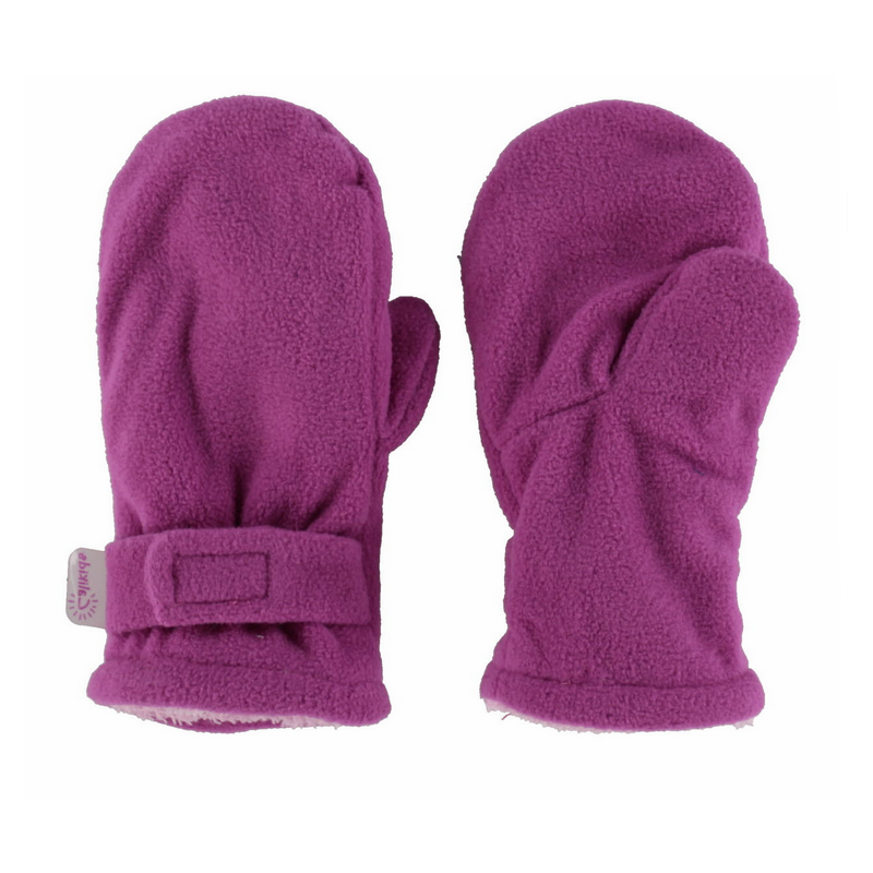 Fleece Mittens -  Calikids W08088 Very berry