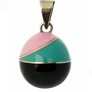 BOLA Pregnancy Pendants Vintage Black Green Pink 3670
