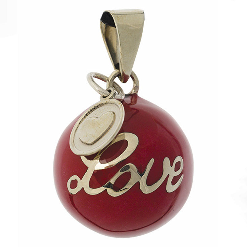 BOLA Pregnancy Pendant Red Love