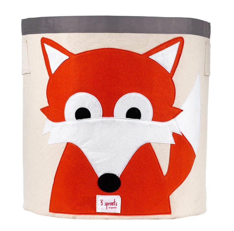 Fox Storage Bin - 3 Sprouts