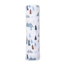 Lulujo Muslin Swaddling Blanket -  Mountain Top