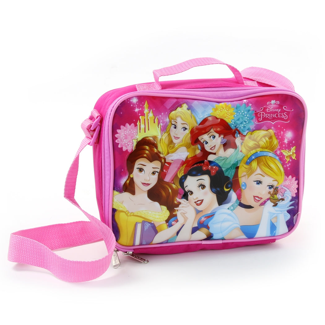 Lunch Bag - Deluxe with Shoulder Strap Disney Princess