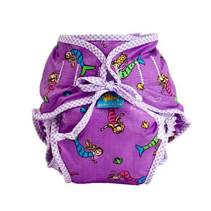 Washable Swim diaper-Kushies Girls mermaid S