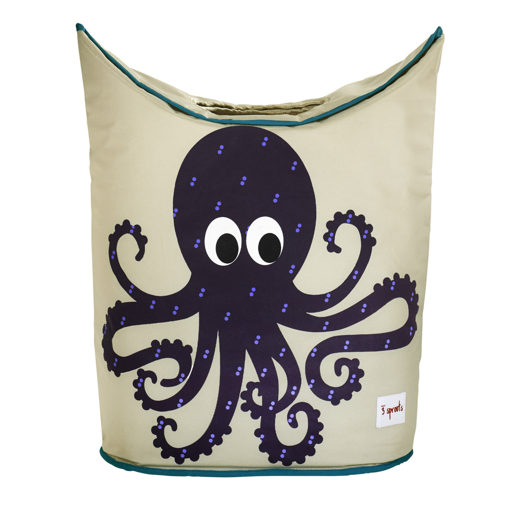 Octopus Laundry Hamper  3 Sprouts