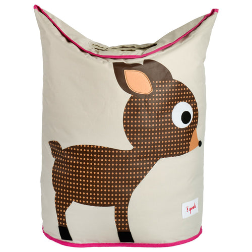 Laundry Hamper  3 Sprouts Deer