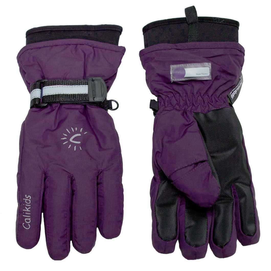 Waterproof Gloves - Calikids W0027 Imperial Purple