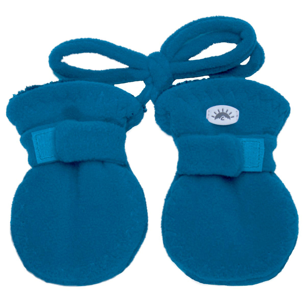 Fleece Baby Mittens - Calikids W08089 Blue Saphire
