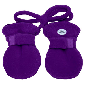 Fleece Baby Mittens - Calikids W08089 0-18m Imperial Purple