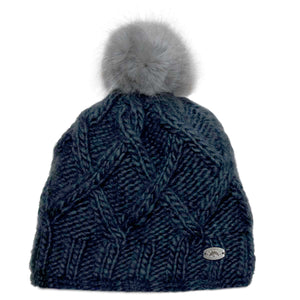 Winter hat - Calikids W1704 India Ink 3m-12m