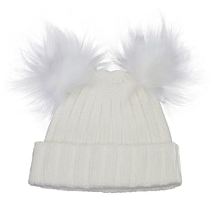 Winter Hat - Calikids W1824 Cream