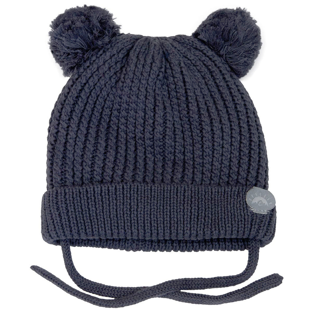 Winter Hat - Calikids Knitted W1903 Charcoal
