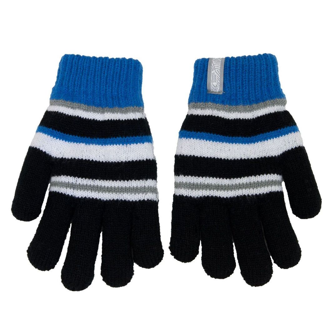 Knitted Gloves - Calikids W1943 Black