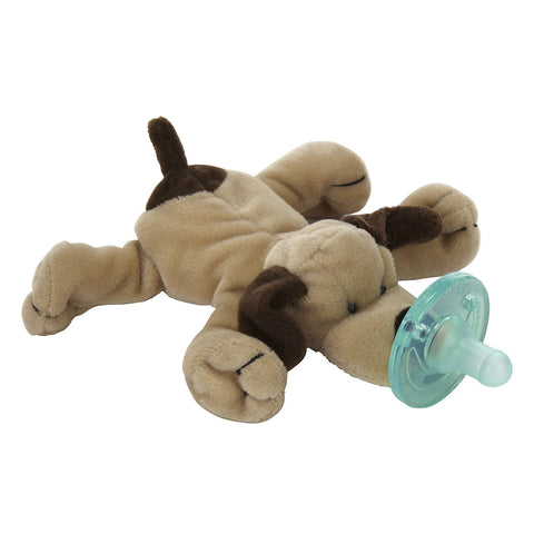 Wubbanub Soother  Brown Puppy