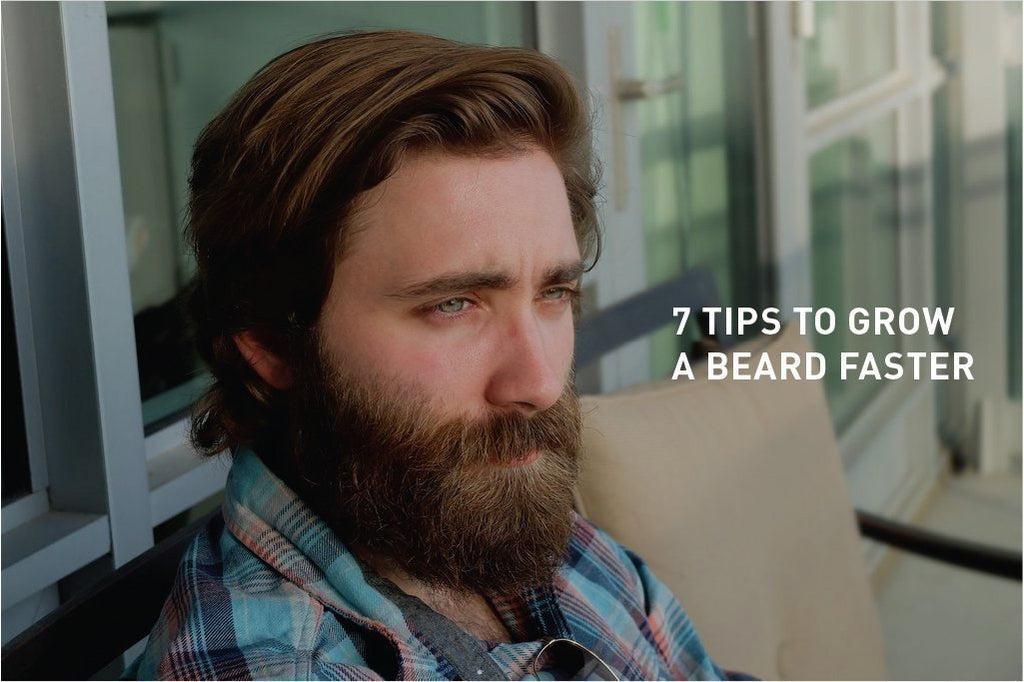 7 Tips to Grow a Beard Faster