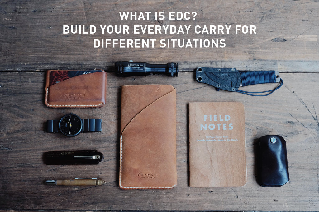 What is EDC? Build Your Everyday Carry for Different Situations