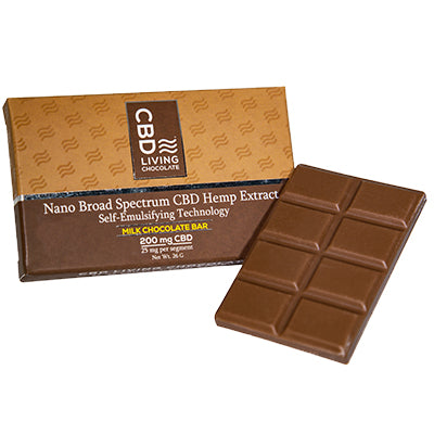 CBD Chocolate Bar - Milk - 200mg