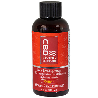 CBD Sleep Aid Syrup - Cherry - 200mgs
