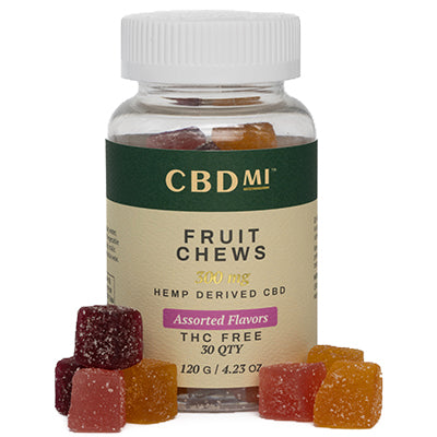 Isolate Fruit Chews - Assorted Flavors - 300mg