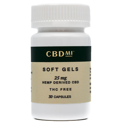 CBD Isolate Soft Gel Caps - 750mg