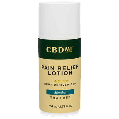 Topical Pain Relief Lotion- Menthol- 400mg