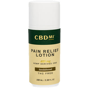 Topical Pain Relief Lotion- Sandalwood- 400mg