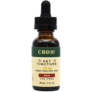 Isolate Pet Tincture- Bacon- 250mg