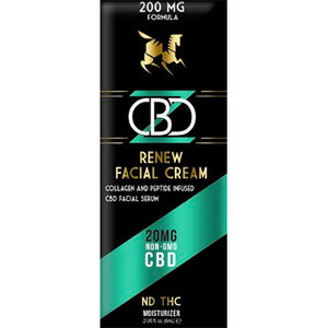 CBD Facial Moisturizer Packet - 20mg